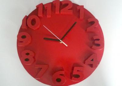 zegar-betonowy-czerwony